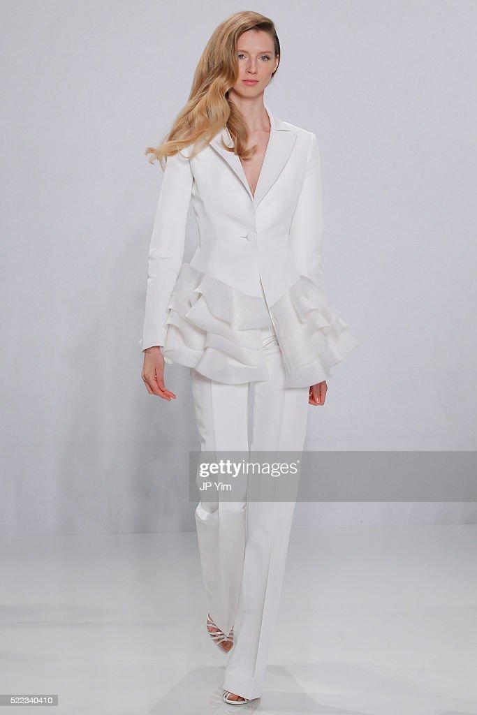 Christian Siriano For Kleinfeld Spring/Summer 2017 Runway Show : News Photo