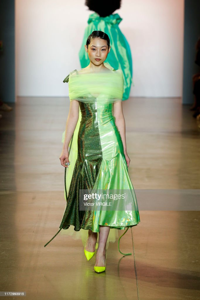Christopher John Rogers - Runway - September 2019 - New York Fashion Week : Fotografia de notícias