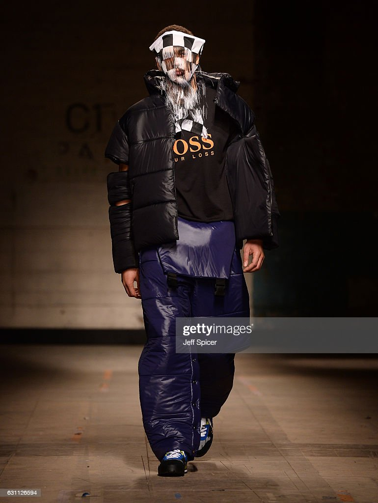 Christopher Shannon - Runway - LFW Men's January 2017 : News Photo