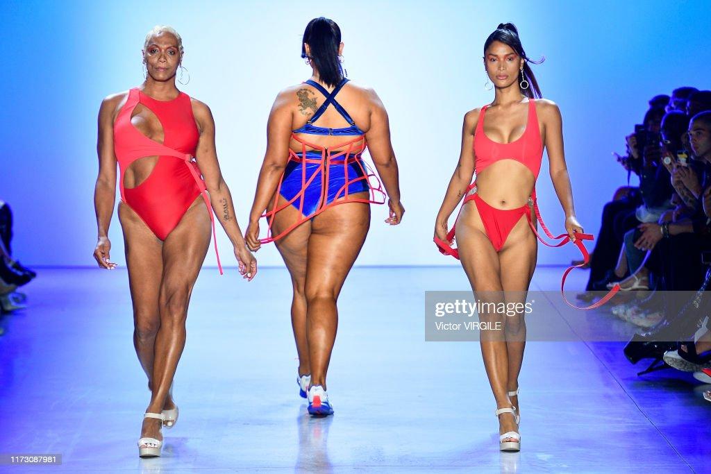 Chromat - Runway - September 2019 - New York Fashion Week : Nachrichtenfoto