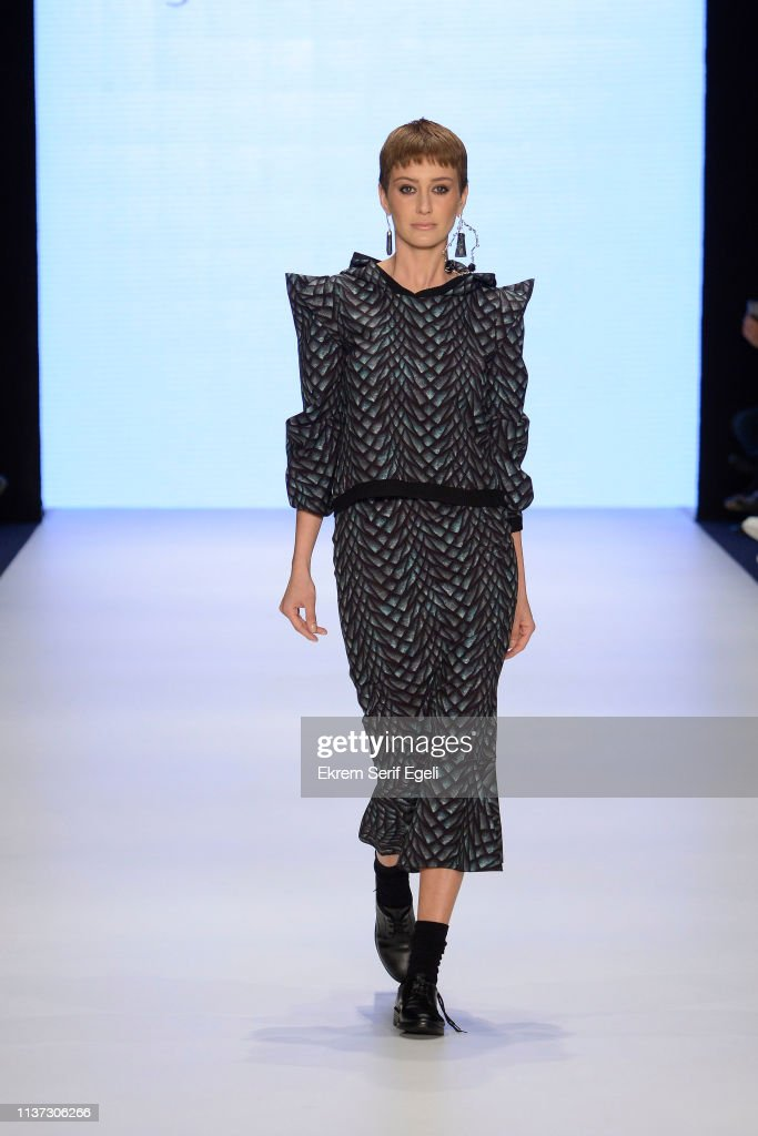 TUR: Cigdem Akin - Runway - Mercedes-Benz Fashion Week Istanbul - March 2019
