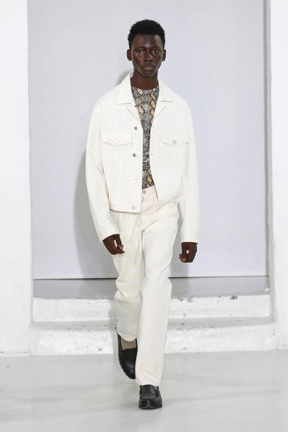FRA: CMMN SWDN : Runway - Paris Fashion Week - Menswear Spring/Summer 2020