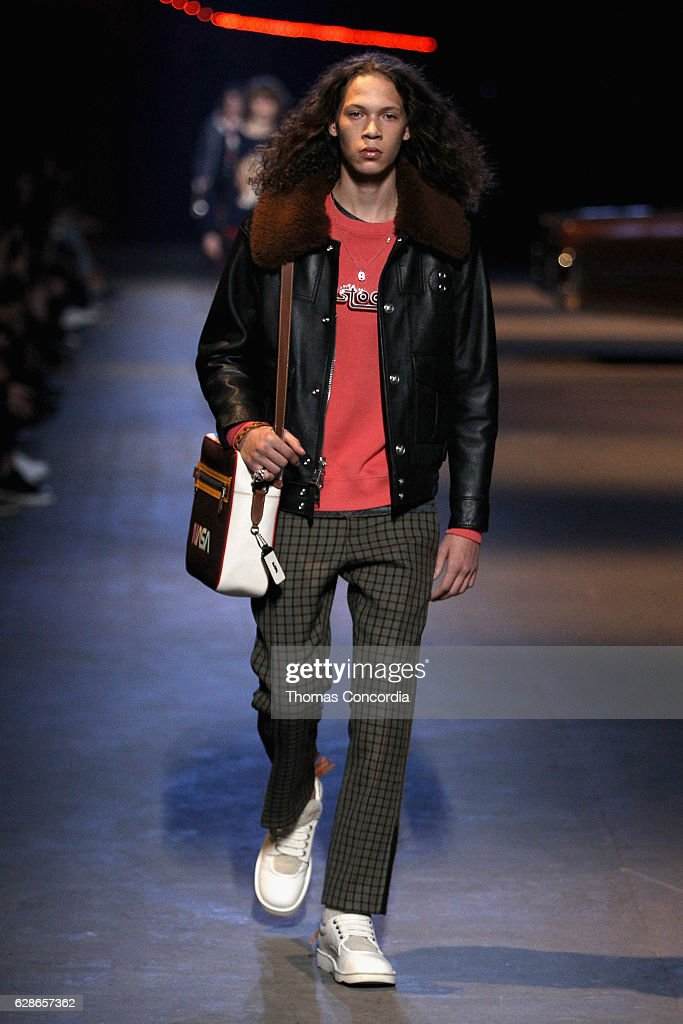 Coach 75th Anniversary: Women's Pre-Fall and Men's Fall Show - Runway : News Photo