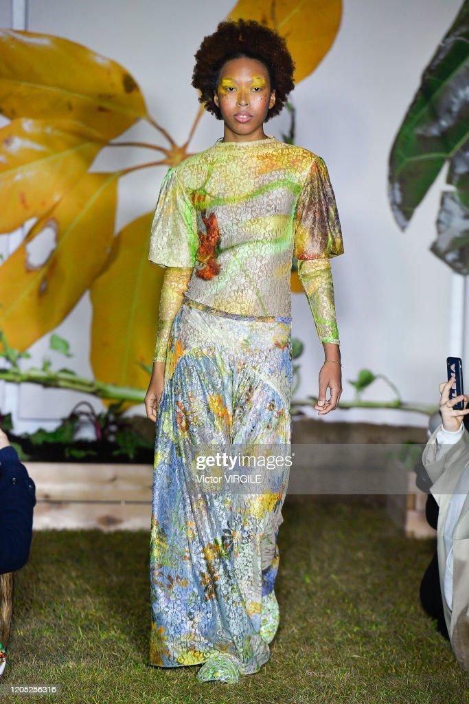 Collina Strada - Runway - February 2020 - New York Fashion Week : News Photo