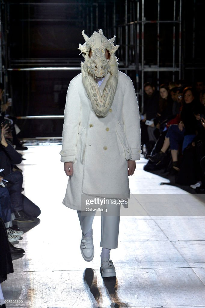 Comme Des Garcons Homme Plus - Mens Fall 2018 Runway - Paris Menswear Fashion Week