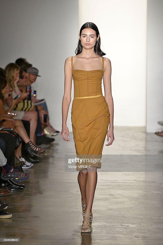 Costello Tagliapietra - Runway - Mercedes-Benz Fashion Week Spring 2015 : News Photo