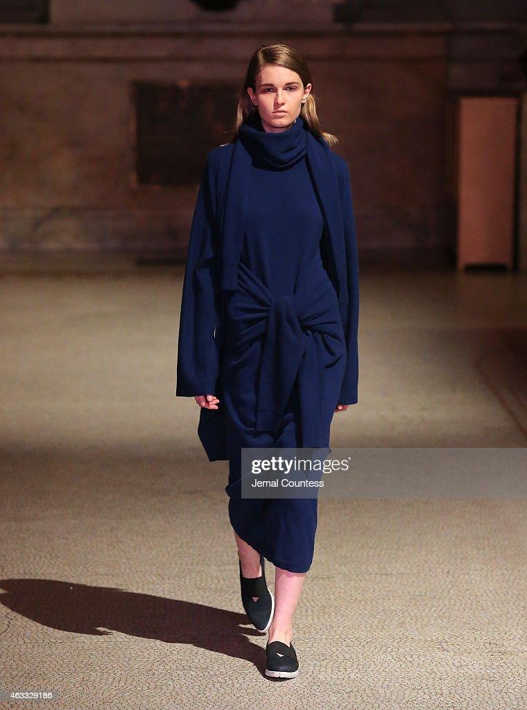 Creatures of Comfort - Runway - Mercedes-Benz Fashion Week Fall 2015 : News Photo