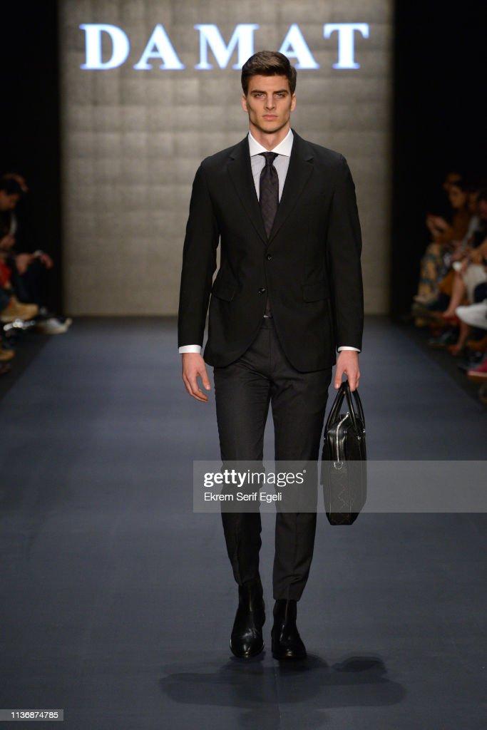 Damat - Runway - Mercedes-Benz Fashion Week Istanbul - March 2019 : News Photo