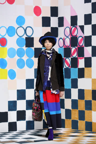 ITA: Daniela Gregis - Runway - Milan Fashion Week Fall/Winter 2021/2022