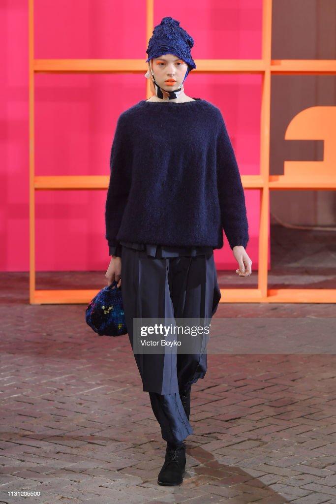 ITA: Daniela Gregis - Runway: Milan Fashion Week Autumn/Winter 2019/20