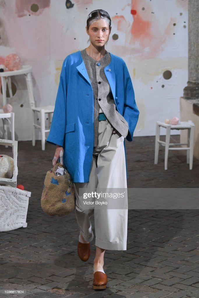 Daniela Gregis - Runway - Milan Fashion Week Spring/Summer 2019