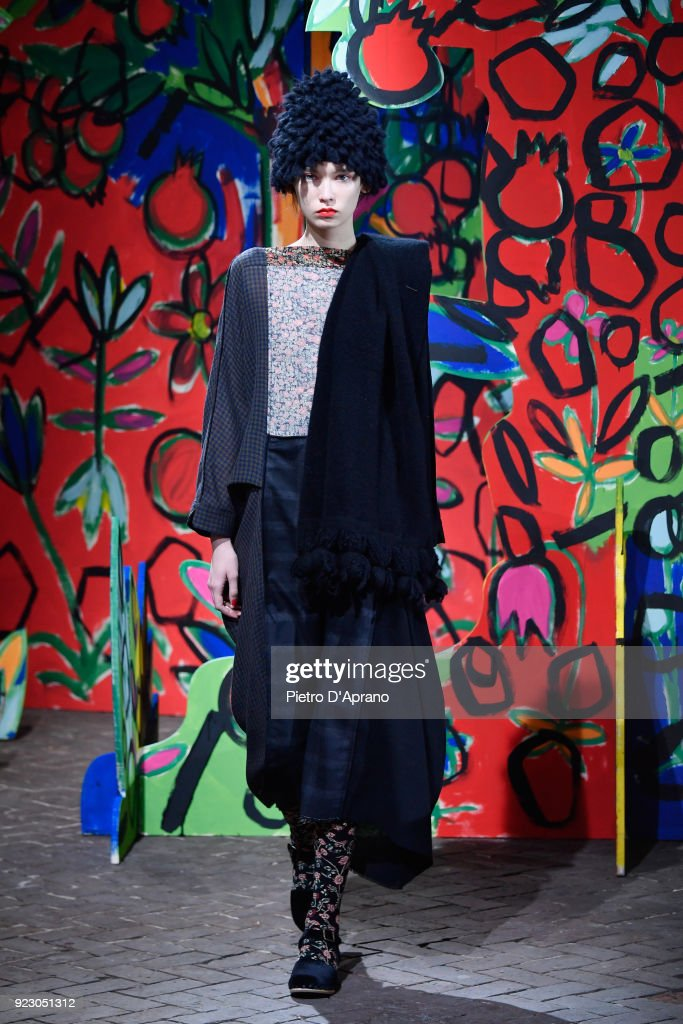 Daniela Gregis - Runway - Milan Fashion Week Fall/Winter 2018/19
