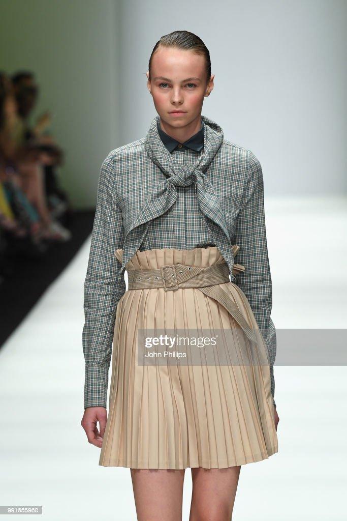Danny Reinke - Show - Berlin Fashion Week Spring/Summer 2019 : Nachrichtenfoto