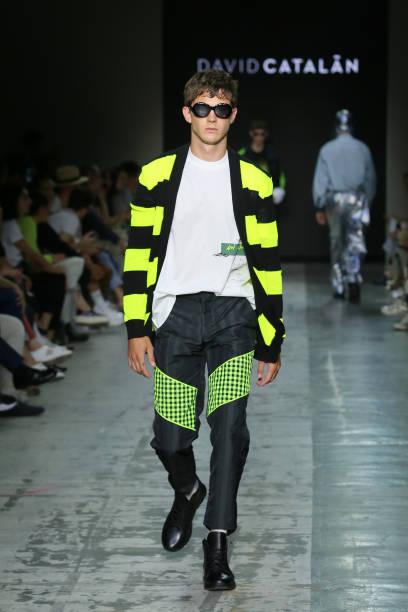 ITA: David Catalan - Runway - Milan Men's Fashion Week Spring/Summer 2020