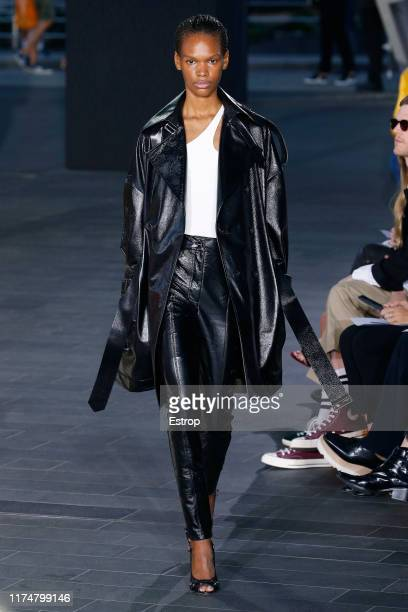 A model walks the runway at the David Koma show during London Fashion Week September 2019 on September 15 2019 in London England