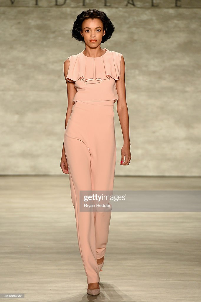 David Tlale - Runway - Mercedes-Benz Fashion Week Spring 2015 : News Photo