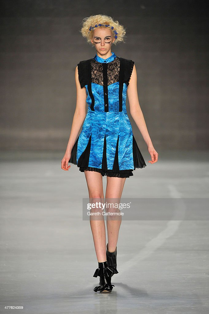 DB Berdan by L'Oreal Professional: Runway - MBFWI Presented By American Express Fall/Winter 2014 : News Photo