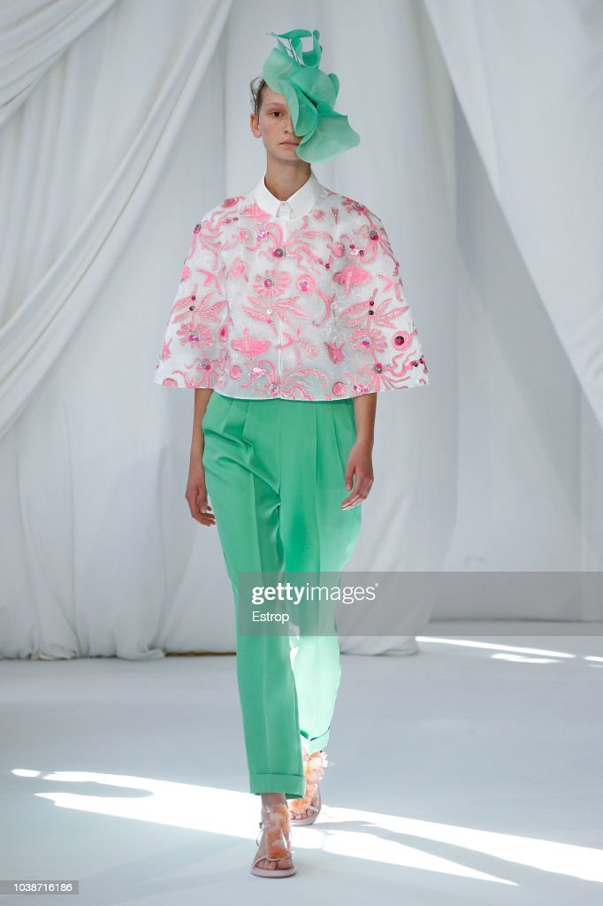 Delpozo - Runway - LFW September 2018 : News Photo