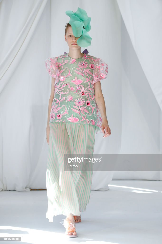 Delpozo - Runway - LFW September 2018 : ニュース写真