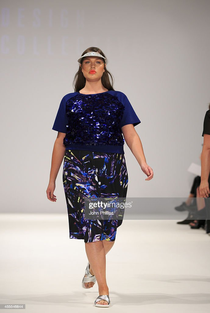 The Design Collective For Evans: Runway - London Fashion Week SS15 : News Photo