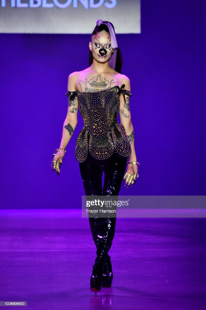Disney Villains x The Blonds NYFW Show -Runway : News Photo