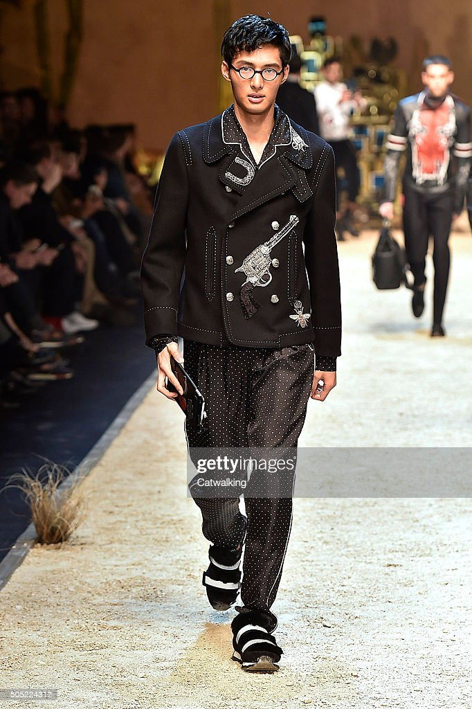 Dolce   Gabbana - Mens Fall 2016 Runway - Milan Menswear Fashion Week    News Photo 1500ced4cb0
