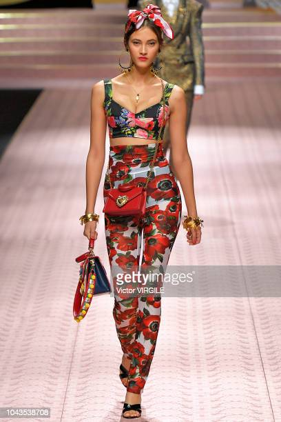cc7a2f1a85c2d A model walks the runway at the Dolce Gabbana Ready to Wear fashion show  during Milan
