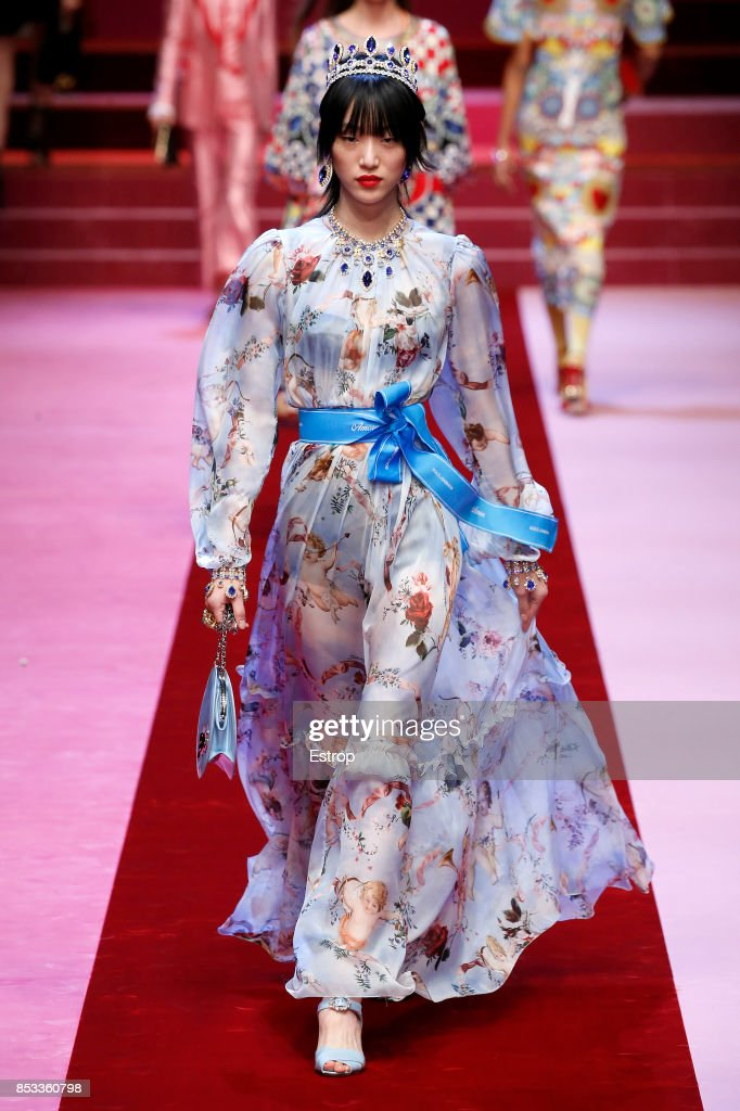 Dolce & Gabbana - Runway - Milan Fashion Week Spring/Summer 2018 : News Photo