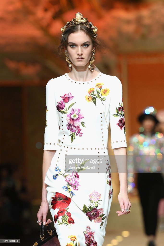 Dolce & Gabbana - Runway - Milan Fashion Week Fall/Winter 2018/19 : News Photo