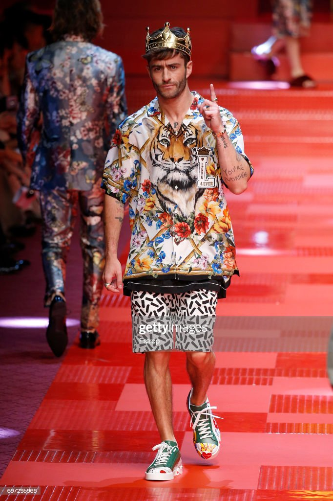 Dolce & Gabbana - Runway - Milan Men's Fashion Week Spring/Summer 2018