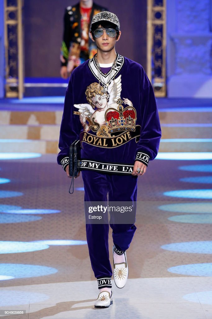 Dolce & Gabbana - Runway - Milan Men's Fashion Week Fall/Winter 2018/19 : ニュース写真