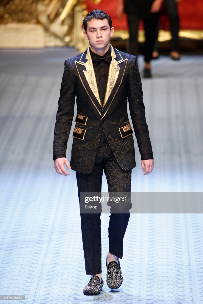 Dolce & Gabbana - Runway - Milan Men's Fashion Week Spring/Summer 2019 : ニュース写真