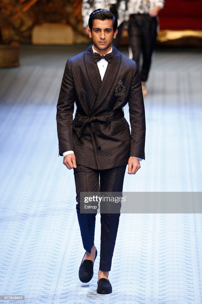 Dolce & Gabbana - Runway - Milan Men's Fashion Week Spring/Summer 2019 : Fotografía de noticias