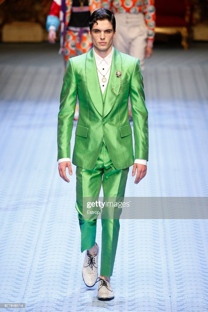 Dolce & Gabbana - Runway - Milan Men's Fashion Week Spring/Summer 2019 : Nachrichtenfoto