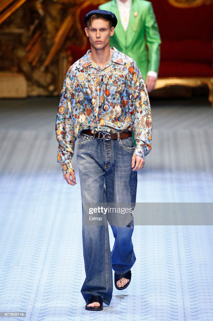 Dolce & Gabbana - Runway - Milan Men's Fashion Week Spring/Summer 2019 : Photo d'actualité