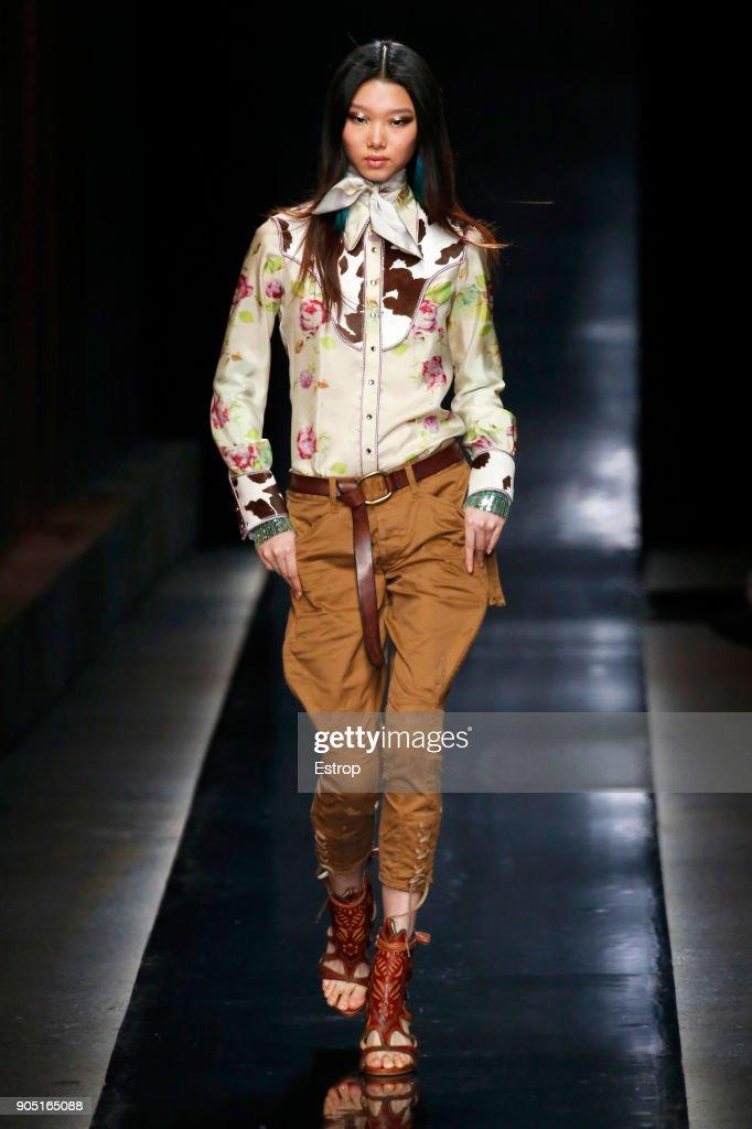 Dsquared2 - Runway - Milan Men's Fashion Week FW 2018/19 : Nachrichtenfoto