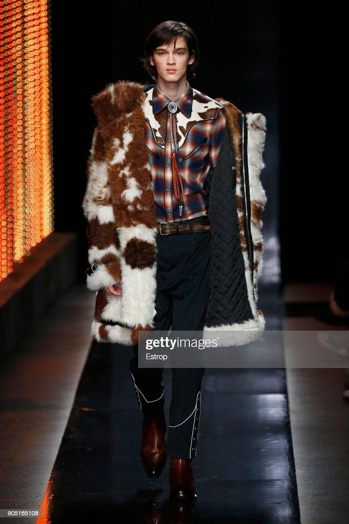 Dsquared2 - Runway - Milan Men's Fashion Week FW 2018/19 : ニュース写真