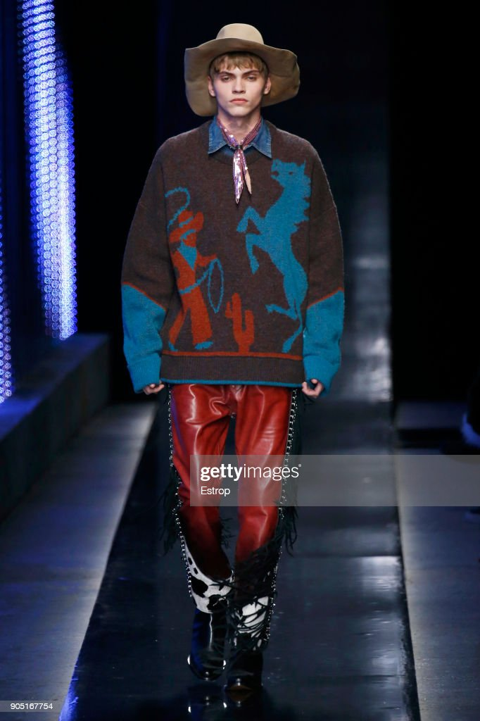 Dsquared2 - Runway - Milan Men's Fashion Week FW 2018/19 : ニュース写真