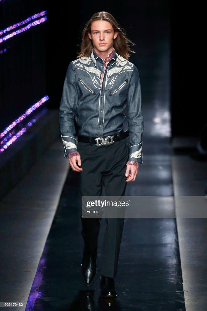 Dsquared2 - Runway - Milan Men's Fashion Week FW 2018/19 : Fotografía de noticias