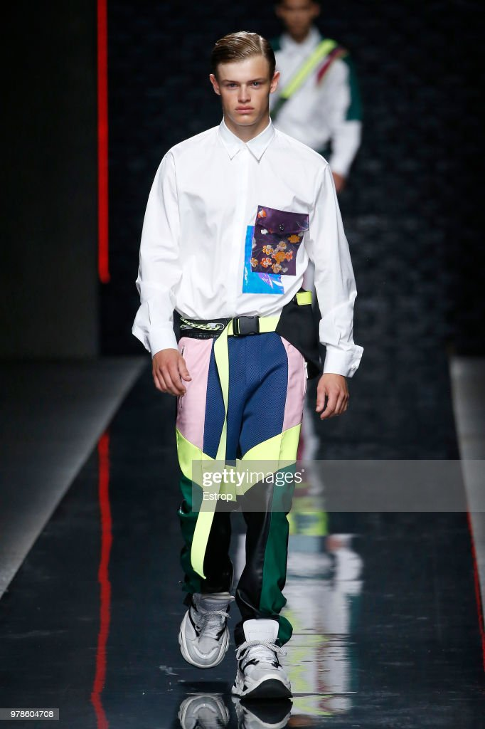 Dsquared2 - Runway - Milan Men's Fashion Week Spring/Summer 2019 : Nyhetsfoto