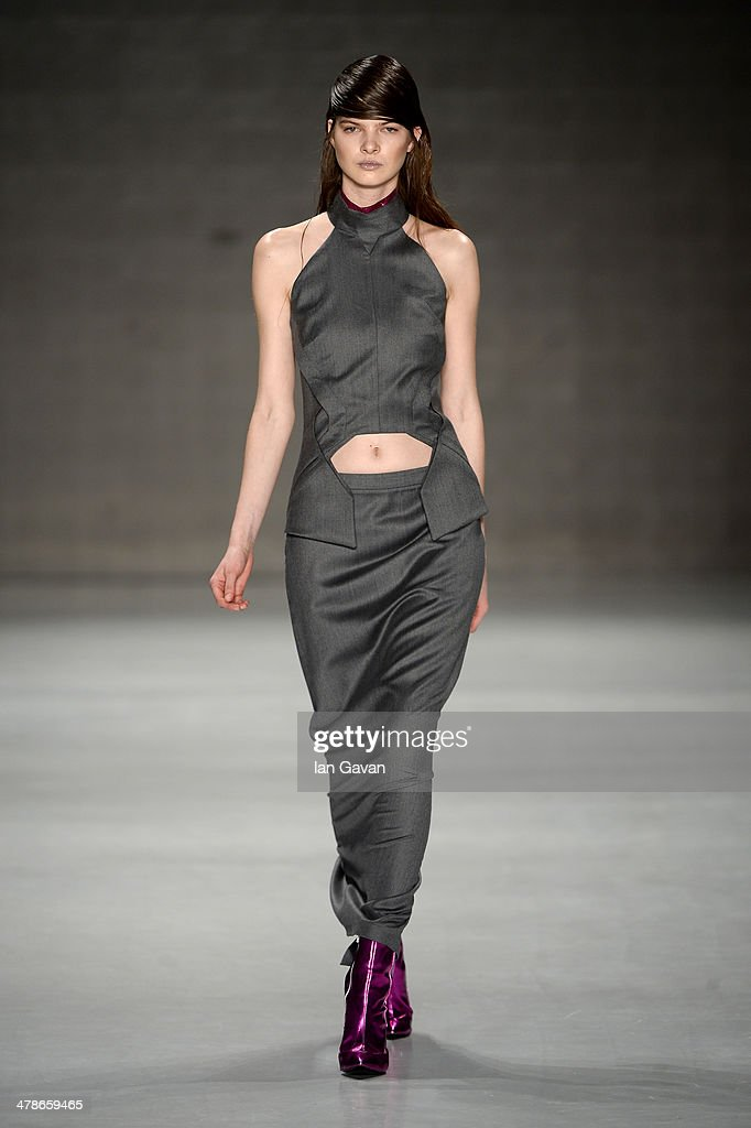 Ece Gozen: Runway - MBFWI Presented By American Express Fall/Winter 2014