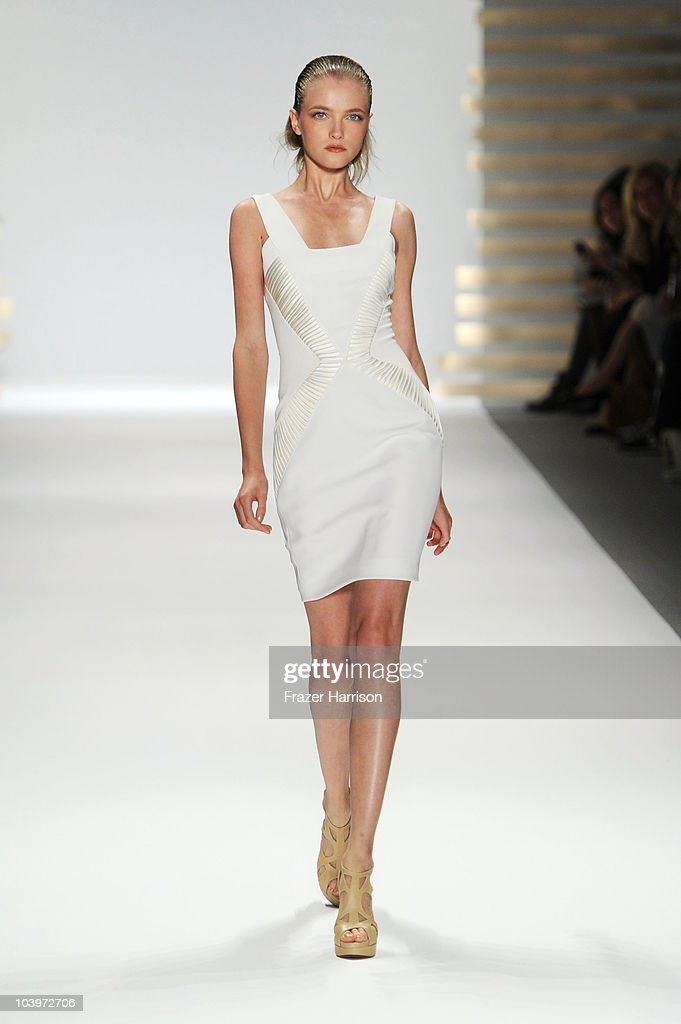 Edition by Georges Chakra - Runway - Spring 2011 MBFW : News Photo