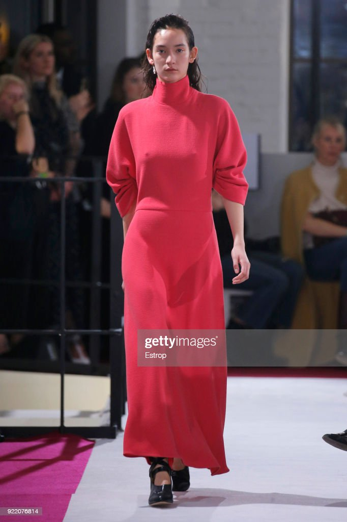 Emilia Wickstead - Runway - LFW February 2018