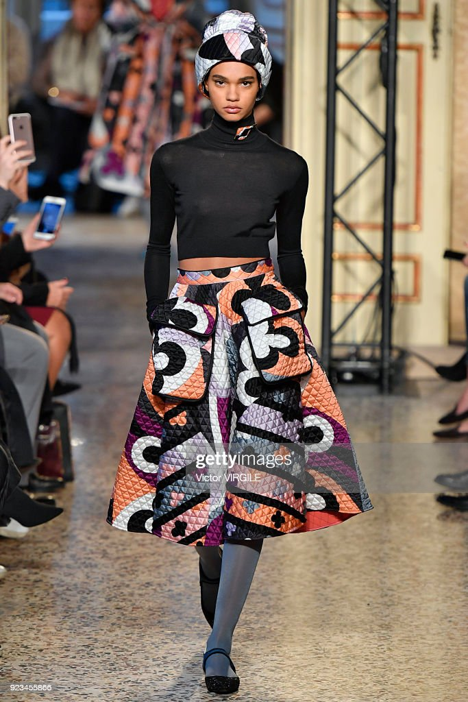 Emilio Pucci - Runway - Milan Fashion Week Fall/Winter 2018/19