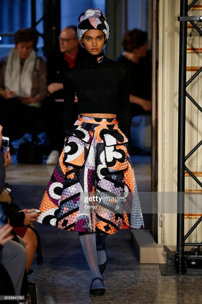 Emilio Pucci - Runway - Milan Fashion Week Fall/Winter 2018/19 : News Photo