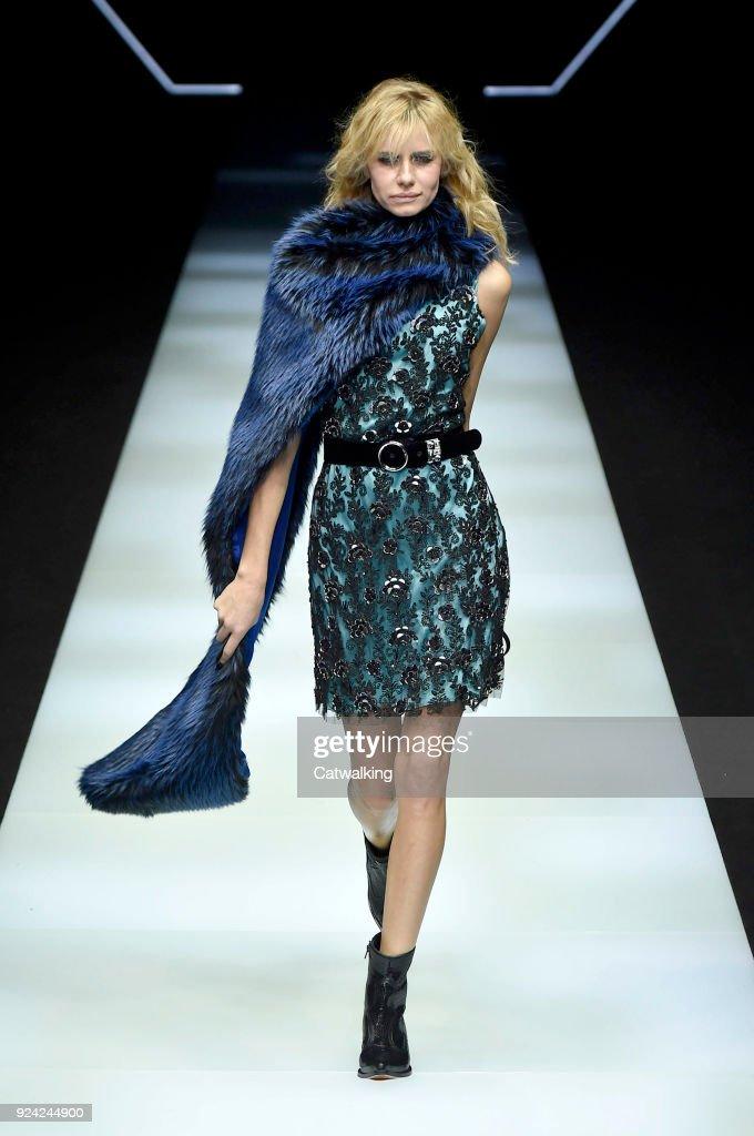 Emporio Armani - Runway RTW - Fall 2018 - Milan Fashion Week