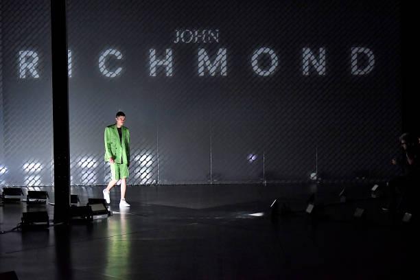 ITA: John Richmond - Runway - Milan Men's Fashion Week Spring/Summer 2020