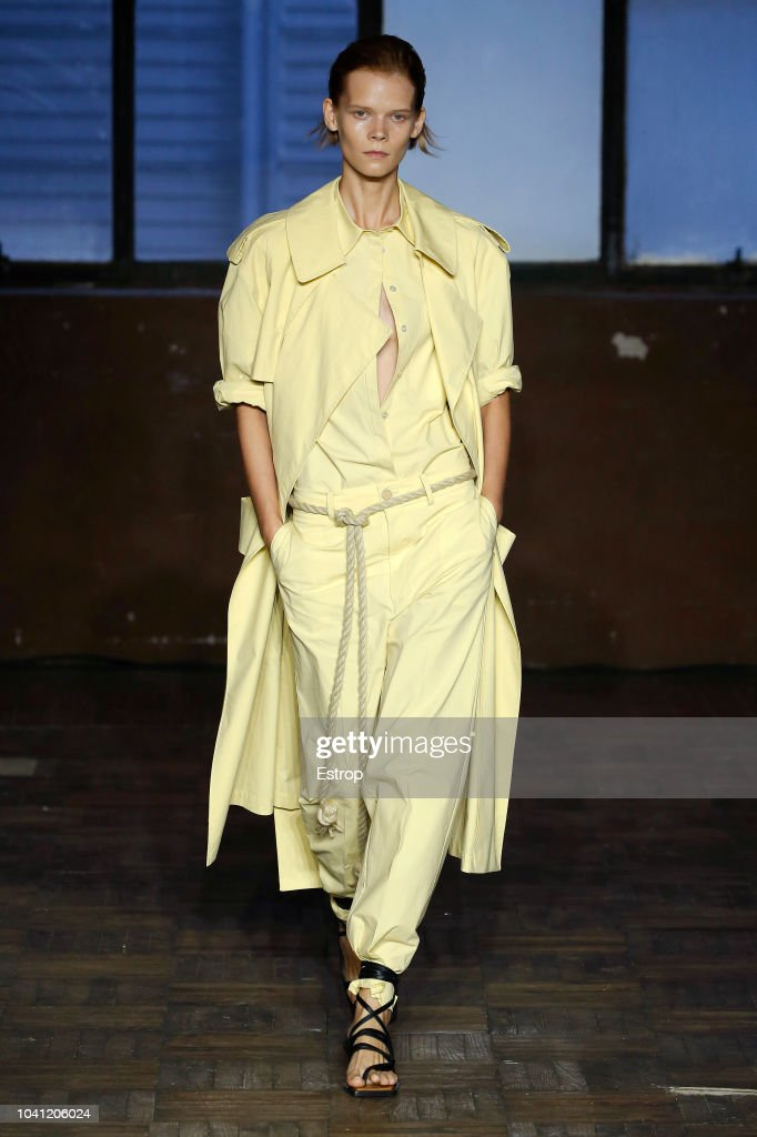 Erika Cavallini - Runway - Milan Fashion Week Spring/Summer 2019