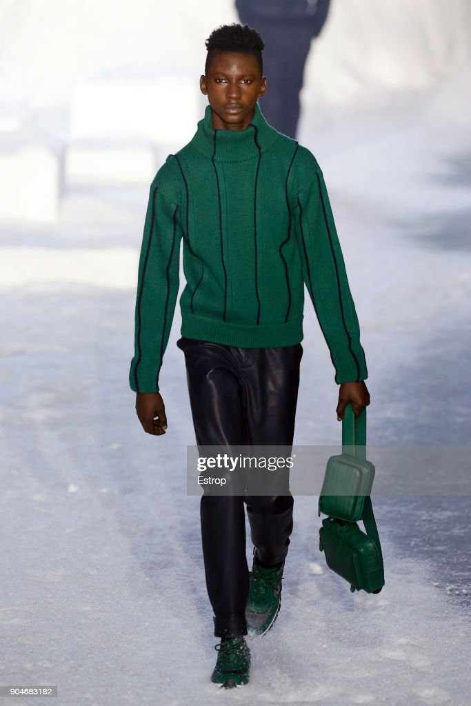 Ermenegildo Zegna - Runway - Milan Men's Fashion Week Fall/Winter 2018/19 : Nachrichtenfoto