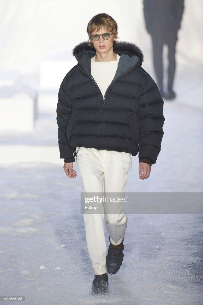 Ermenegildo Zegna - Runway - Milan Men's Fashion Week Fall/Winter 2018/19 : Fotografía de noticias